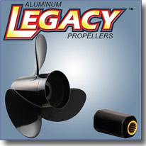 Алюминиевый винт Turning Point серии LEGACY с втулкой