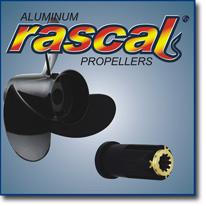 Алюминиевый винт Turning Point серии RASCAL с втулкой